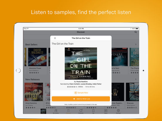Audible – audio books, original series & podcasts-4
