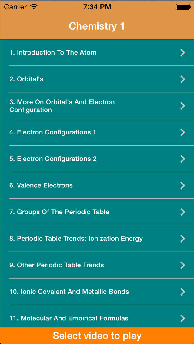 Khan academy chemistry 1 review educational app store khan academy chemistry 1 1 urtaz Image collections