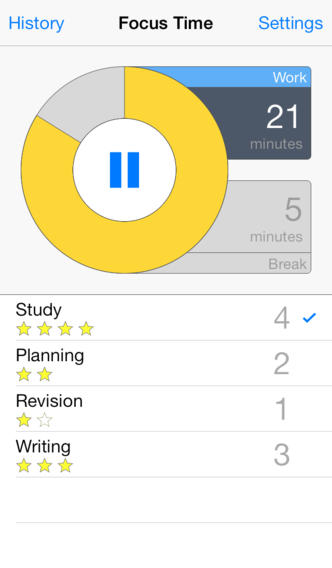 Focus Time - Activity Tracker & Pomodoro Timer App - 1