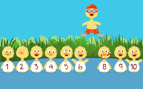Numbers For Ducklings