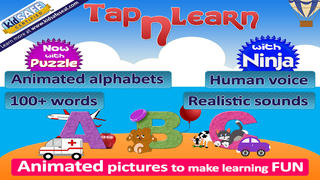 Tap and learn ABC, Preschool kids game to learn alphabets, phonics with animation and sound-1
