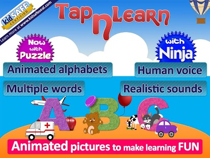 For kids, Learn ABC, Alphabets App - 1