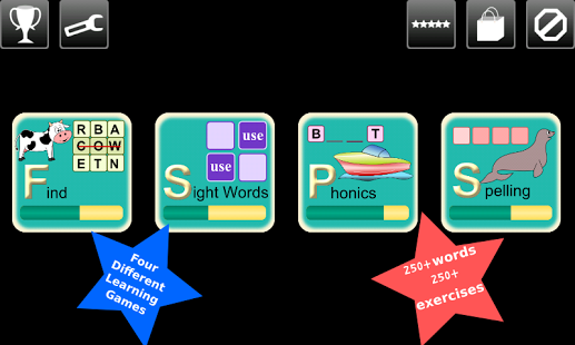 First Grade Kids Word Play App - 9