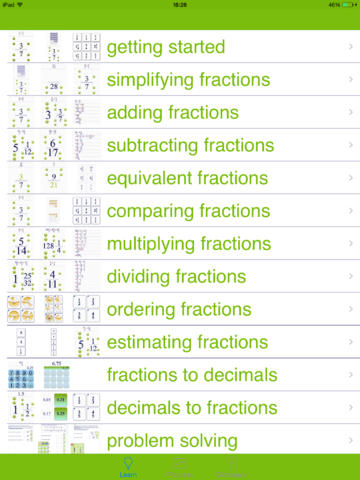 3000+ Fractions