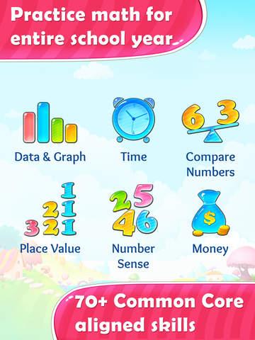 Grade 1 Common Core Maths App - 2