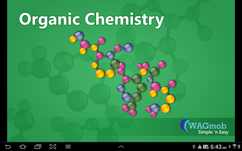 Organic Chemistry by WAGmob App - 1