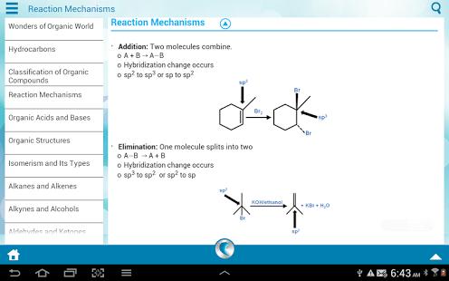 Organic Chemistry by WAGmob App - 3