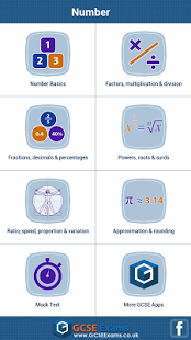 GCSE Maths : Number Revision App - 7