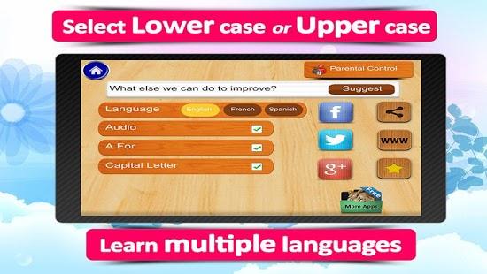 ABC for kids,animated alphabet App - 6