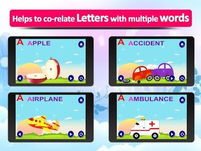 ABC for kids,animated alphabet App - 7