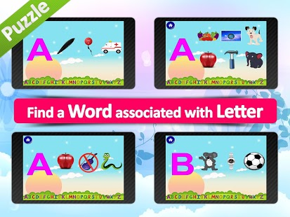 Animated alphabet for kids,ABC App - 4
