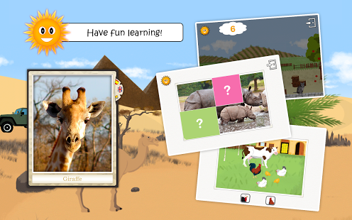 Animals: educational kids game-9
