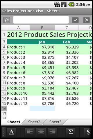 OfficeSuite Pro 6 + (PDF & HD)-3