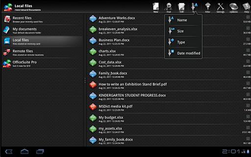 OfficeSuite Pro 6 + (PDF & HD)-7