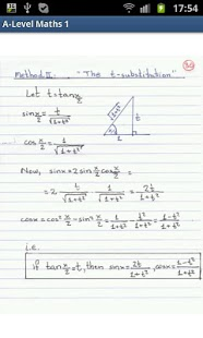 A-Level Mathematics (Part 1) App - 4