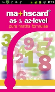 mathscard a-level
