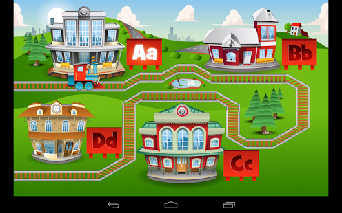 Kids ABC Trains Game App - 2