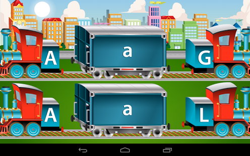 Kids ABC Trains Game App - 4