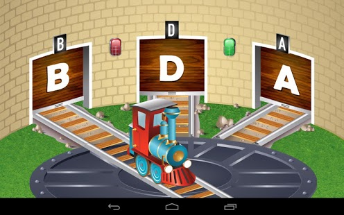 Kids ABC Trains Game App - 8