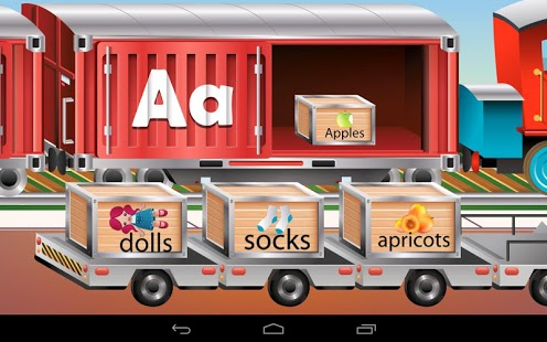 Kids ABC Trains Game App - 9
