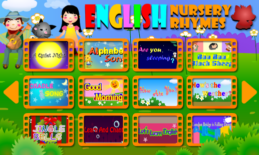 English Nursery Rhymes App - 1