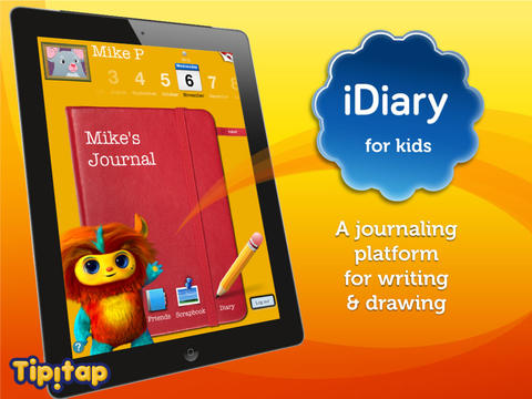 iDiary for Kids: journaling platform for writing & drawing