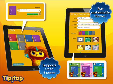 iDiary for Kids: journaling platform for writing & drawing-2