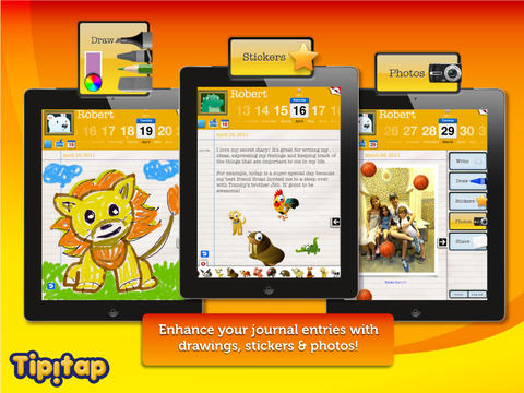 iDiary for Kids: journaling platform for writing & drawing-4