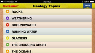 GCSE Geology Prep Flashcards Exambusters App - 2