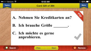 GCSE German Prep Flashcards Vocabulary Exambusters