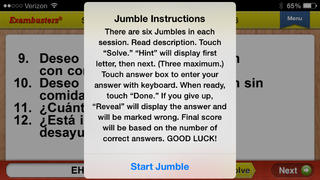 GCSE Spanish Prep Flashcards Exambusters App - 5