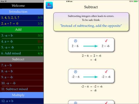 Integers App - 2