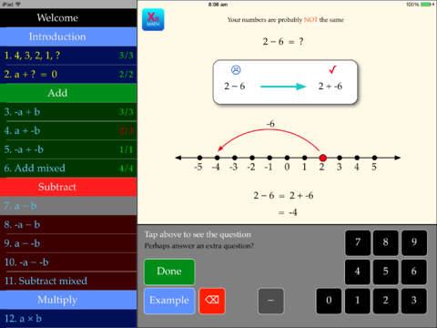 Integers App - 3