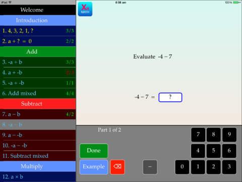 Integers App - 4