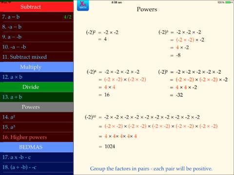 Integers App - 5