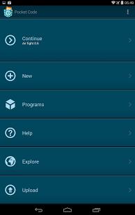 Pocket Code App - 2