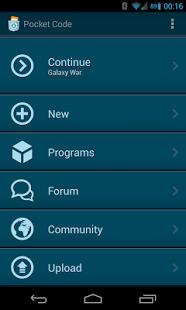 Pocket Code App - 7