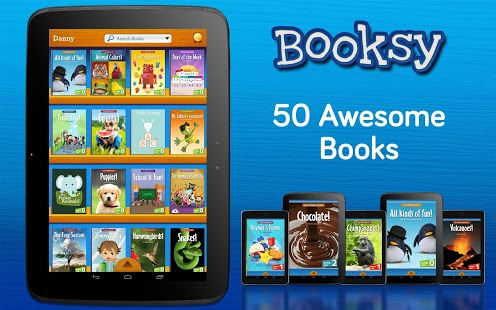 Booksy: 50 Book Library App - 1