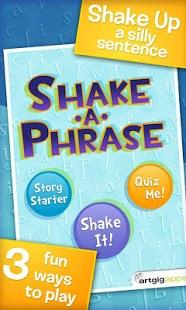 Shake-a-Phrase: Vocabulary Fun-1