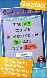 Shake-a-Phrase: Vocabulary Fun-4