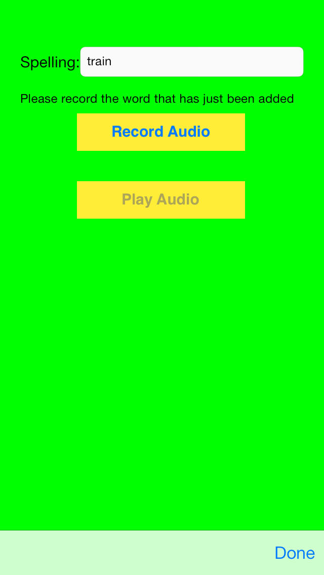 Spelling Hangman App - 4