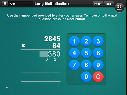 Multiplication App - 4