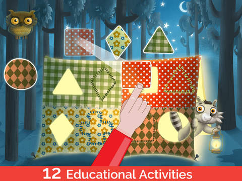 TinyHands Raccoon Treehouse, Activities for kindergarten and preschool kids-2