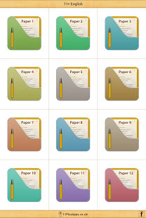 11+ English - Practice Papers App - 1