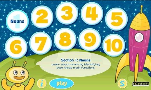 Grammar Fun 2nd Grade HD App - 1