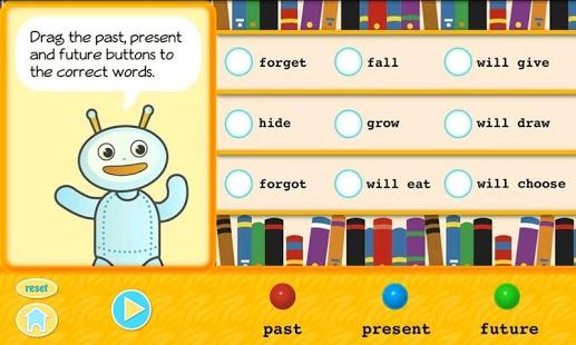 Grammar Fun 2nd Grade HD App - 2