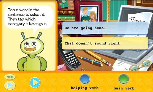 Grammar Fun 2nd Grade HD App - 4