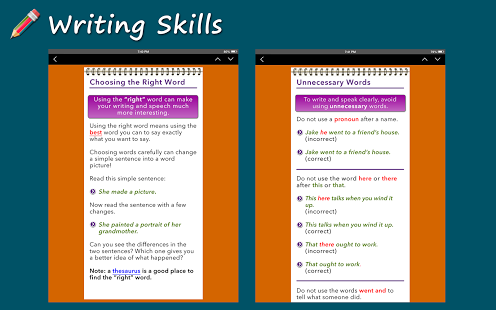 Writing Skills [HD] App - 2