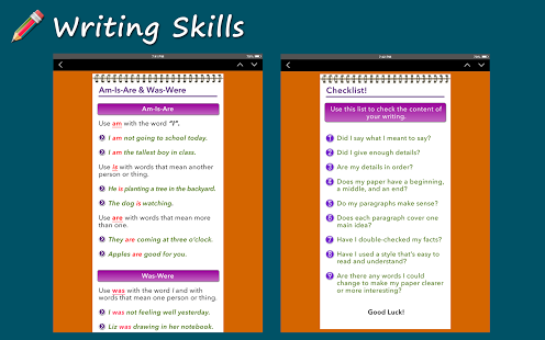 Writing Skills [HD] App - 10