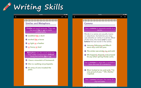 Writing Skills [HD] App - 13